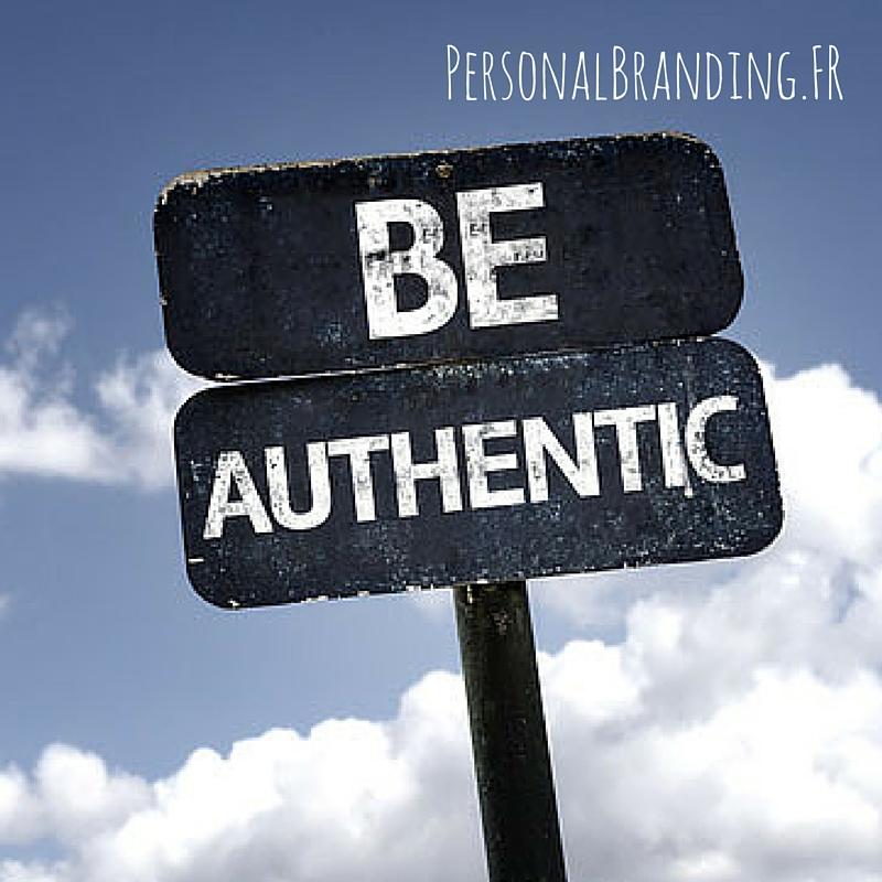 Personal Branding être authentique